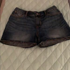 Old navy children's size 16 medium wash shorts.